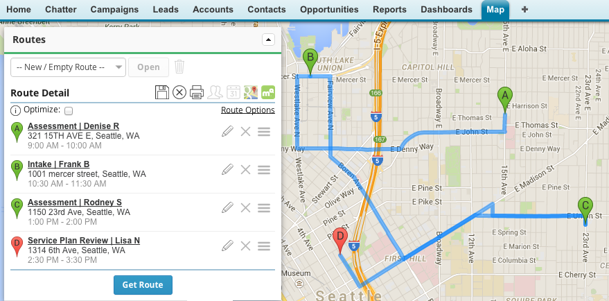 Three Use Cases for Salesforcebased Mapping in Human and Social
