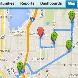 Three Use Cases for Salesforce-based Mapping in Human and Social Services