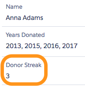 "Calculating Donor ""Streak"" in The NPSP (No code required!)"