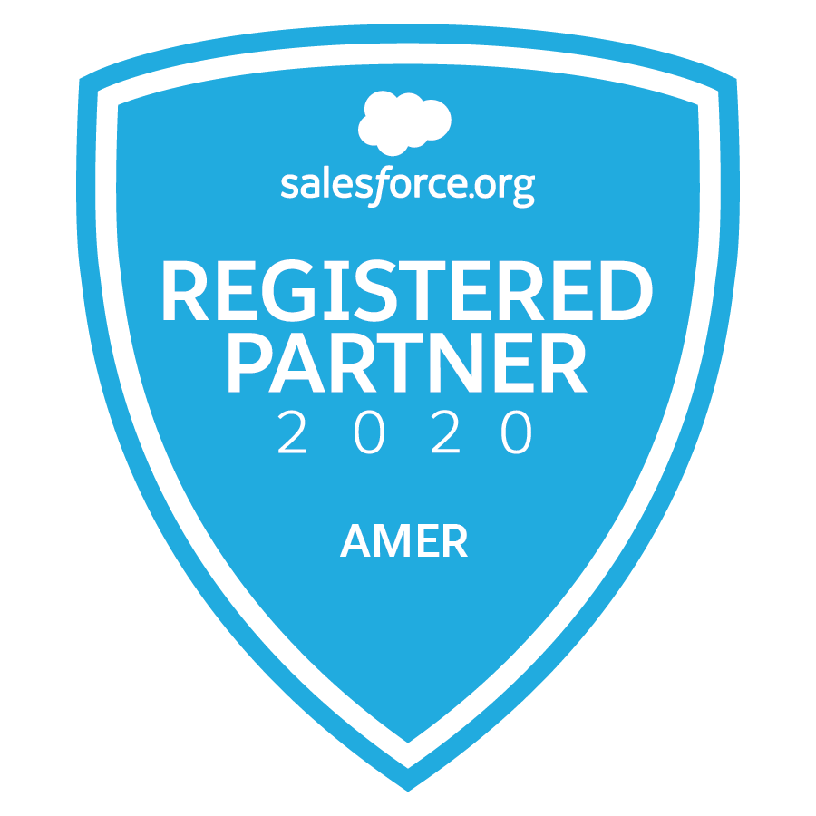 Salesforce.org Registered Partner 2020 AMER