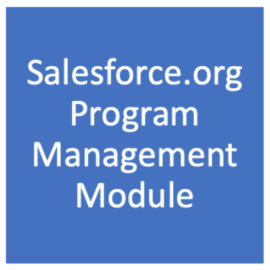 First look: Salesforce.org Program Management Module (PMM)